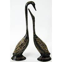 Бронзовая статуэтка Пара лебедей