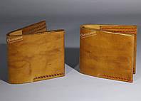 Кошелек кожаный мужской ручной работы