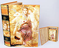 Шкатулка-книга со стразами 33см