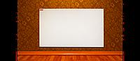 Экономный инфракрасный электрообогреватель с терморегулятором (500 ВТ, 12 м.кв.) Ecos 500 НПТ