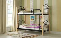 Кровать двухъярусная металлическая Тиара Мадера