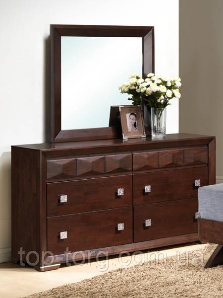 Будуарный столик с зеркалом Фабиан  / комод / туалетный столик