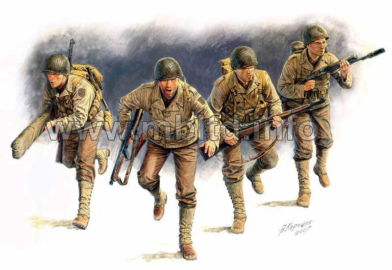 """""""D-DAY"""" 6th JUNE 1944. 1/35 MASTER BOX 3520"""