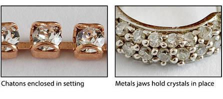 Как использовать Swarovski Crystal Chatons
