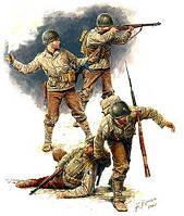 Американская пехота. Европа, июль 1944 год. 1/35 MB3521