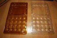 Упаковка для перепелиных яиц прозрачная