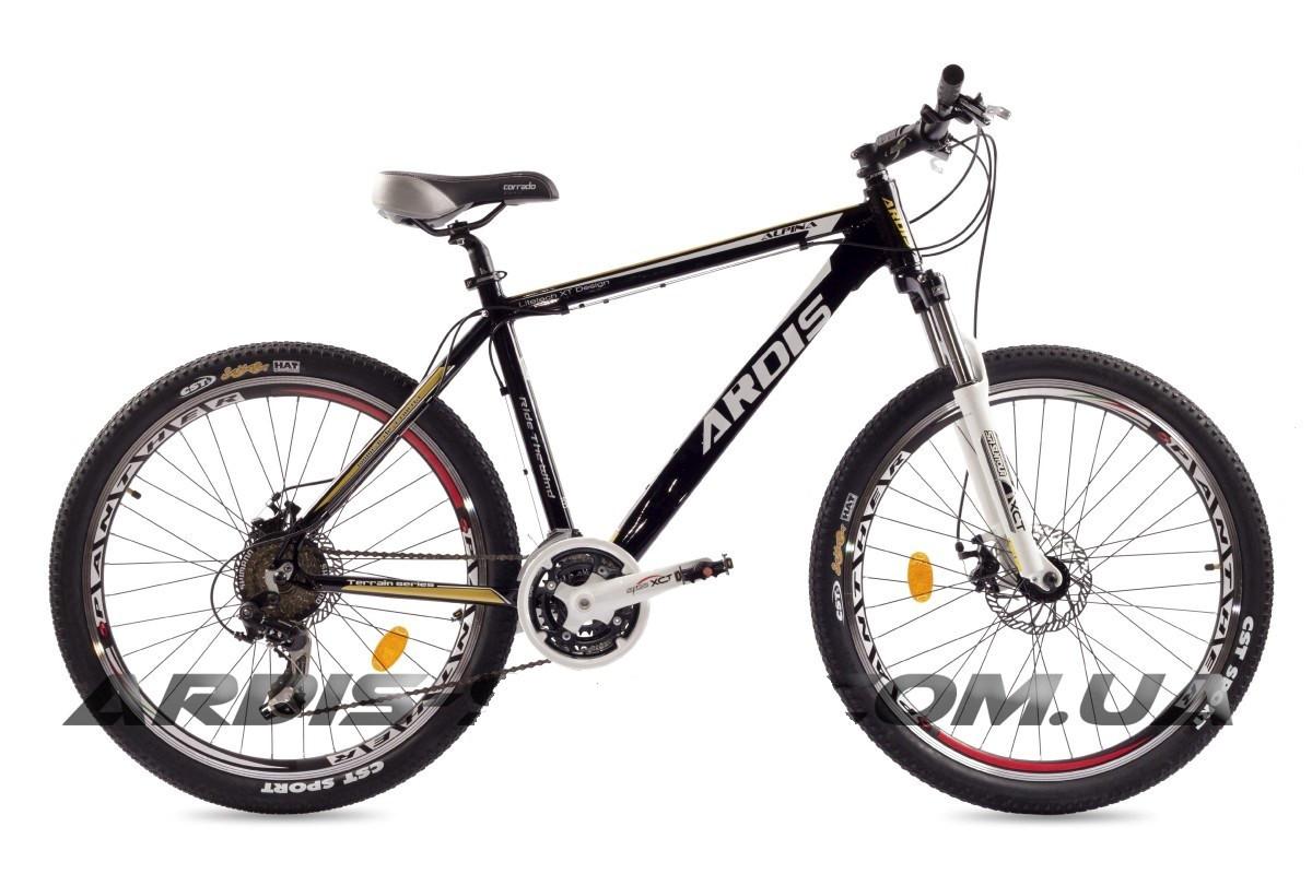 """Горный велосипед ARDIS ALPINA 26"""" 19""""  Черный/Белый"""