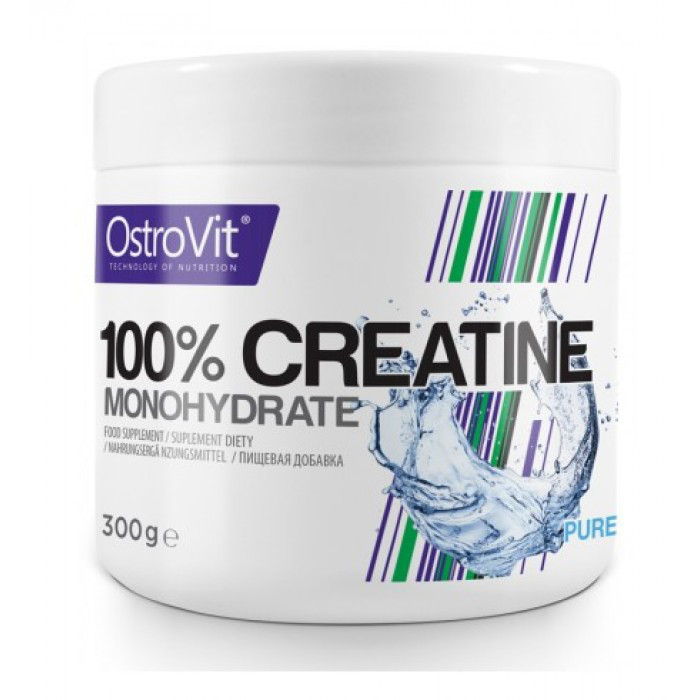 Креатин OstroVit 100% Creatine Monohydrate 300 g