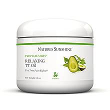 Relaxing TT Oil NSP Обезболивающий крем «Расслабляющее масло чайного дерева» для мышц и суставов НСП