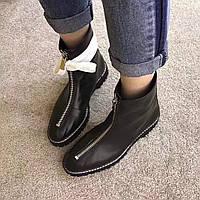 Женские кожаные ботинки Alexander Wang