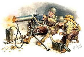 Американские пулеметчики. Европа 1944г. 1/35 MASTER BOX 3519