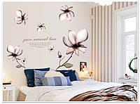"""Виниловые наклейки на стену """"Орхидея"""""""