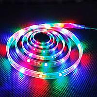 Светодиодная лента LED 3528 RGB, многоцветная светодиодная лента, разноцветная лед лента для подсветки