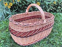 Плетеные корзины из цельной лозы, фото 1