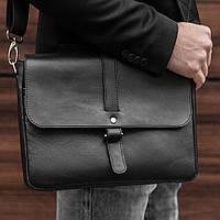 Мужская кожаная сумка на плечо