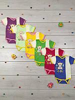 Боди футболка для новорожденных 01-1493 Мишутка-Беби, хлопок, р.р.20-28
