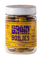 Бойлы Brain Honey (Мед) Soluble 200 gr, mix 16-20 mm