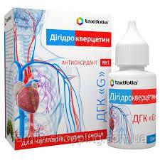 Дигидрокверцетин (Таксифолин) ДГК«G» жидкая форма - 15 мл