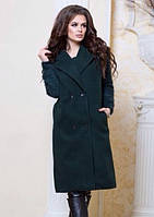 Женское демисезонное пальто без подкладки. Материал турецкий кашемир. Размер универсальный 44-50.