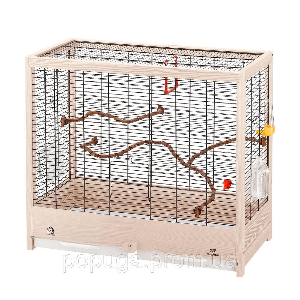 Деревянная клетка для птиц Ferplast Giulietta 4, 57*30*50 см