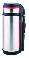 Термос Con Brio 1,5 л с ручкой и ремешком
