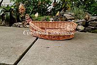 Поднос хлебница кофейная овальная, фото 1