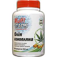 Конопляное масло в капсулах MULTICAPS, 350 мг, фото 1