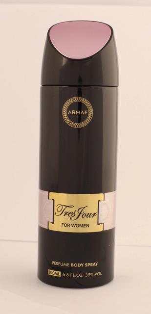 Женский парфюмированный дезодорант Armaf TRES JOUR 200 ml