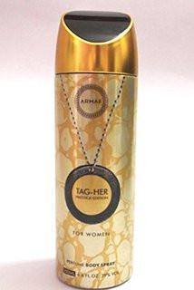 Женский парфюмированный дезодорант Armaf TAG-HER PRESTIGE 200 ml