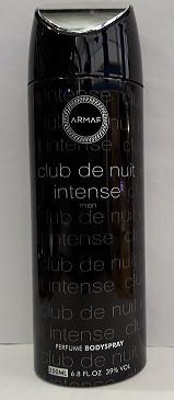 Мужской парфюмированный дезодорант Armaf Club De Nuit Intense Man 200ml