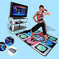 Танцевальный коврик для использования на компьютере или телевизоре DANCE MAT PC+TV