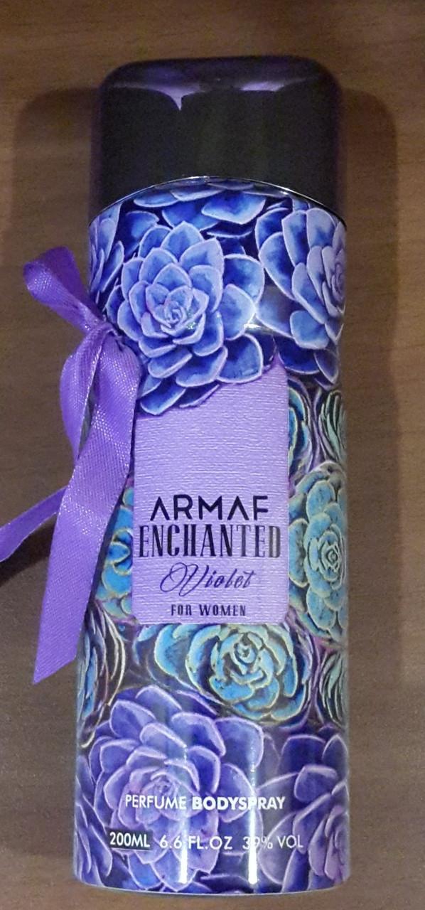 Женский парфюмированный дезодорант Armaf ENCHANTED VIOLET 200 ml