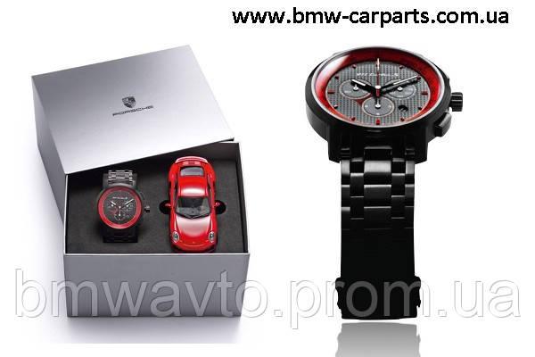 Набор из модели и хронографа Porsche 911 Turbo S Classic chronograph, set – Ltd. Ed., фото 3