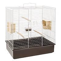 Клетка для средних попугаев Ferplast Sonia grey, 61,5*40* h65 см