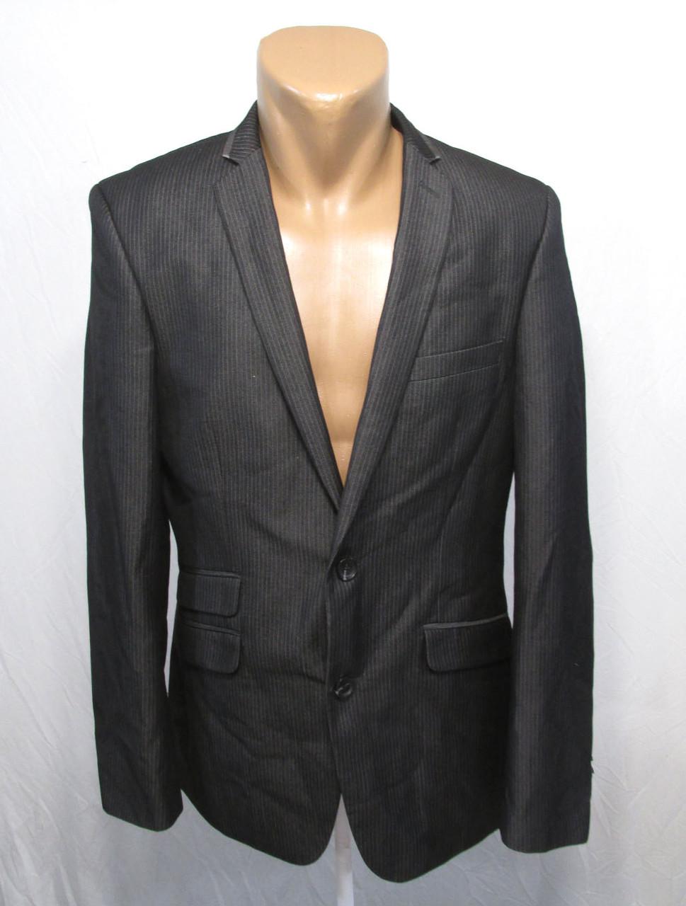 Пиджак BURTON, т.серый, 38R, Slim Fit, Как Новый!