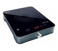Электроплита индукционная Sencor SCP3201GY Black, стеклокерамика, 1 комфорка, настольная кухонная плита электрическая, електроплита