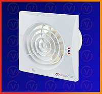 Вытяжной вентилятор Vents Квайт ТН, D = 100мм
