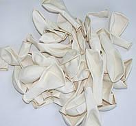 Воздушный шар белого цвета пастель 26 см./ в уп. 10 шт.