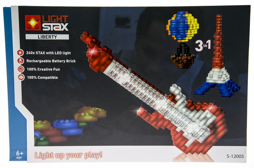 Конструктор фантастический с LED подсветкой Liberty LIGHT STAX LS-S12005