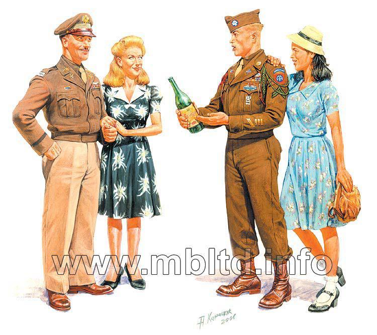 Европа 1944г. 1/35 MB3514