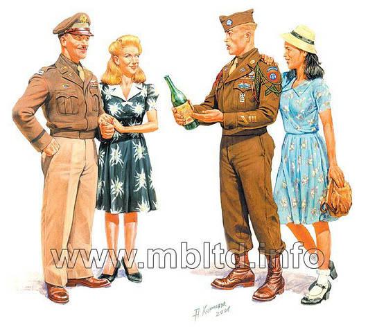 Европа 1944г. 1/35 MB3514, фото 2