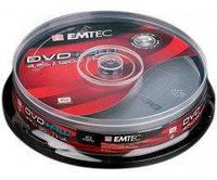 Диск Emtec DVD-RW 4,7 GB 4x Cake box/10