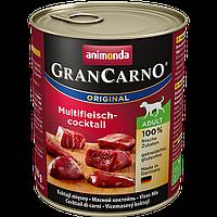 Консервы «Gran Carno Original Adult мясной коктейль» (для взрослых собак всех пород), 800 гр.