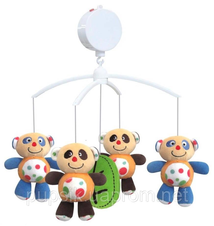 Музыкальный мобиль Baby Mix 336М Панда (Мягкие игрушки)