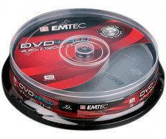 Диск Emtec DVD+RW 4,7 GB 4x Cake box/10