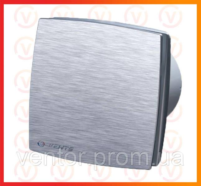 Вытяжной вентилятор Vents ЛДА алюм. мат., D = 100мм