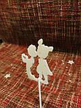 Топпер день влюбленных на палочке, в торт, фото 4