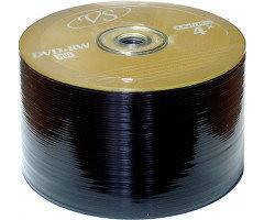 Диск VS DVD+RW 4,7 GB 4x, Bulk/50 (CMC Magnetics) золотистый