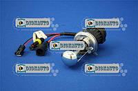 Лампа автомобильная Н4 БИ ксенон MITSUMI (5000К) (разъем Китай круглый)  (5000К DC)