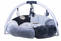 Nattou - Развивающий коврик с дугами и подушками Алекс и Биба